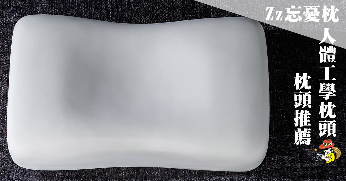 Zz忘憂枕人體工學枕頭推薦,舒適柔軟好睡眠!