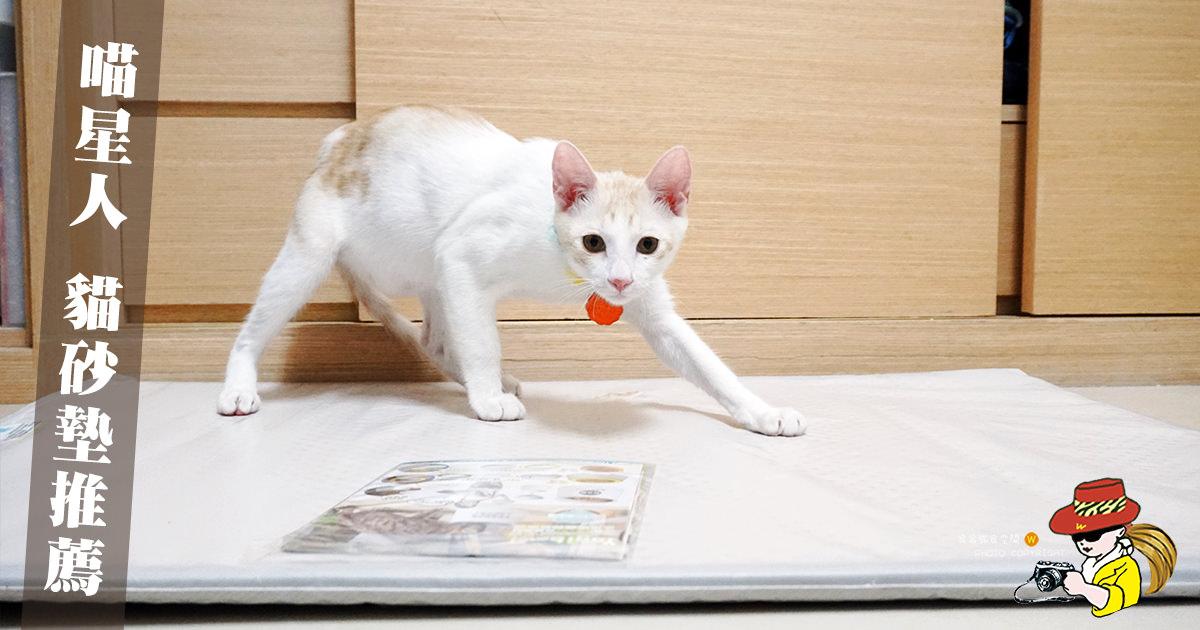 貓砂墊推薦|喵星人貓砂墊 Blackhole Cat Litter Mat 耐用 物超所值