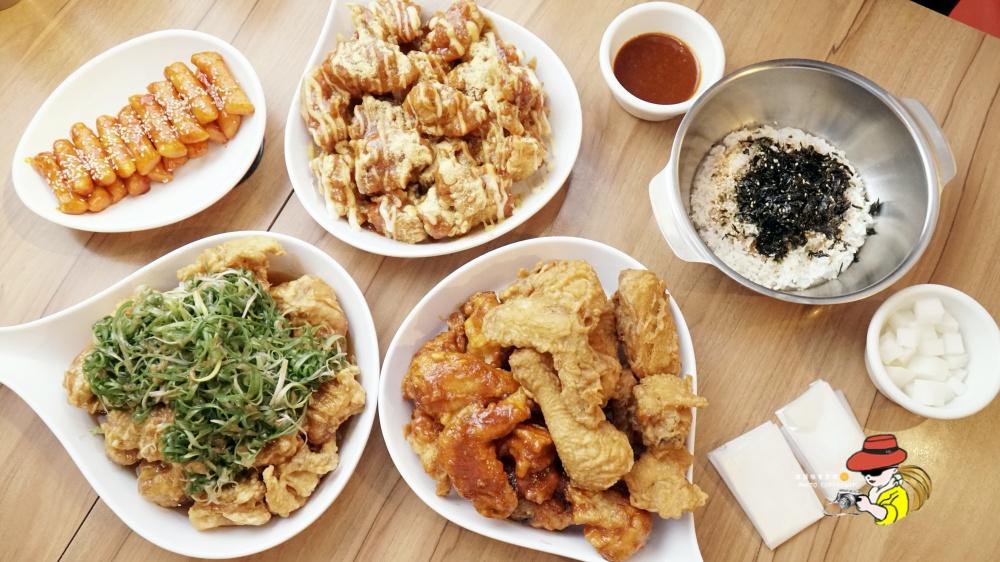 韓式炸雞台北推薦|起家雞Cheogajip菜單 起家雞처갓집 國父紀念館韓式炸雞 起家雞去骨炸雞系列推薦