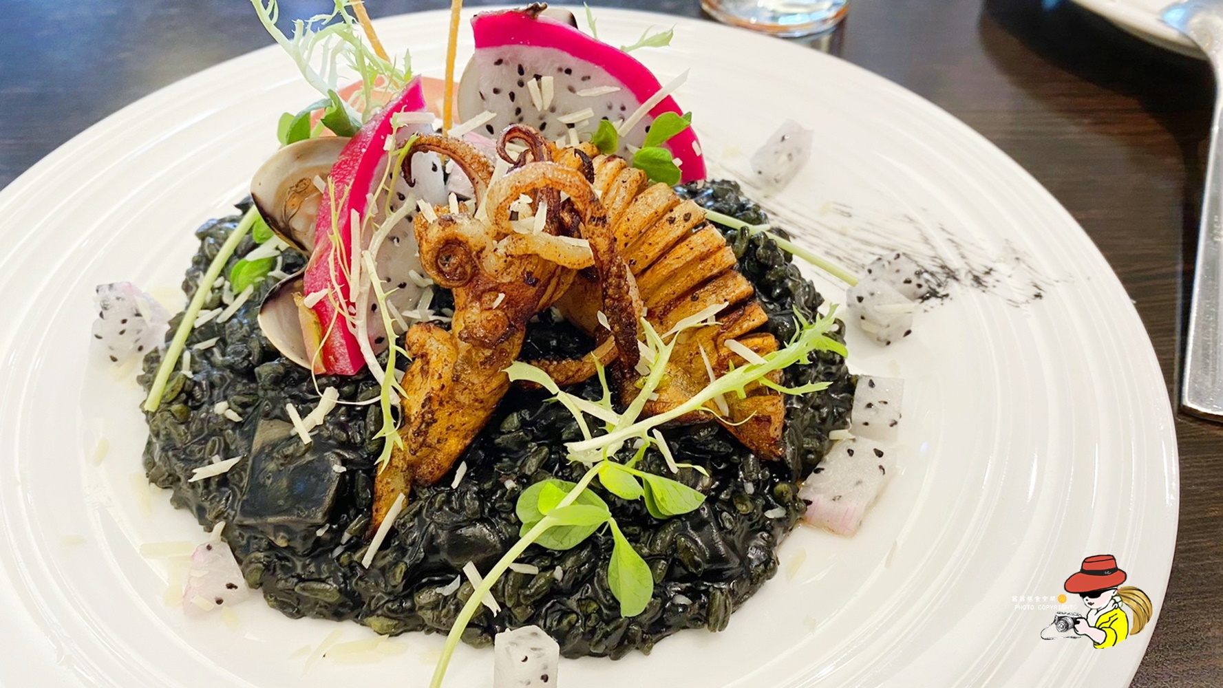 A-LI阿理義式廚房|三重美食義式料理 墨魚燉飯超好吃 五華街美食