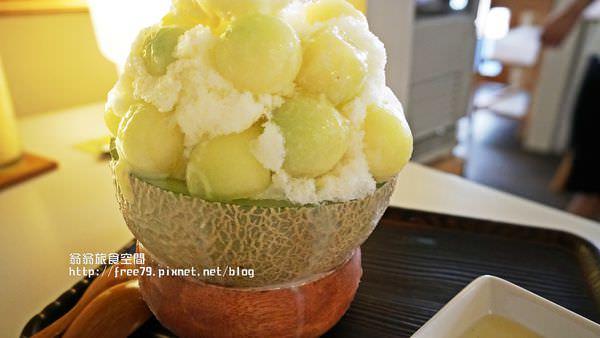 桃園夏日冰品推薦經典哈密瓜球剉冰!冰玉點點吃起來整個透心涼!